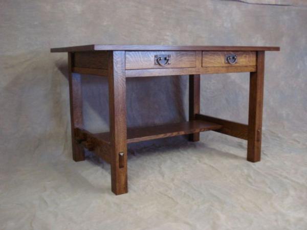 Stickley 675 Desk Mission Arts Crafts Reproduction Furniture