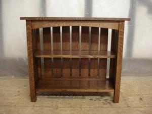 ... Custom Mission Oak Furniture Vermont   Quartersawn Bookcase ...